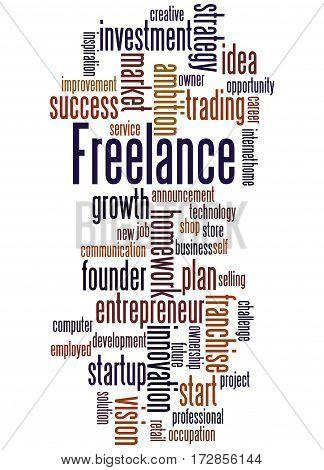 Freelance, Word Cloud Concept 5