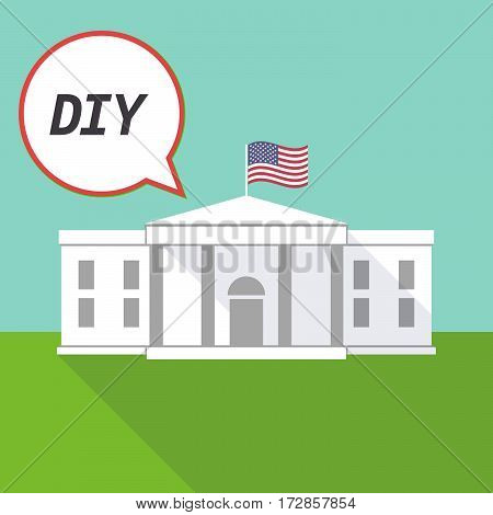 The White House With    The Text Diy