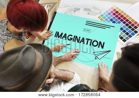 Ideas Paper Plane Creative Imagination
