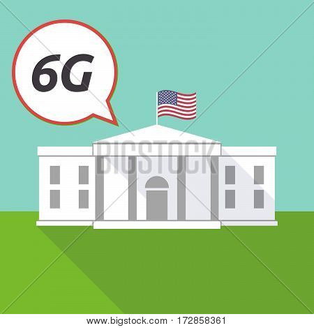 The White House With    The Text 6G