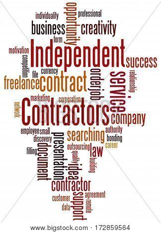 Independent Contractors, Word Cloud Concept 5