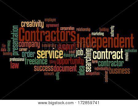 Independent Contractors, Word Cloud Concept 7