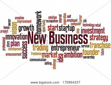 New Business, Word Cloud Concept 2