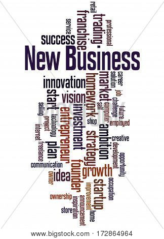 New Business, Word Cloud Concept 8