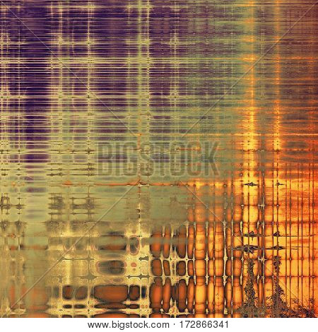 Retro background with grunge texture. With different color patterns: yellow (beige); brown; gray; red (orange); purple (violet)