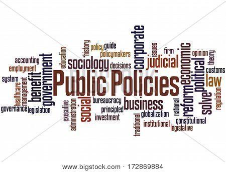 Public Policies, Word Cloud Concept 5