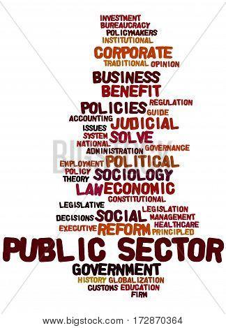 Public Sector, Word Cloud Concept 4