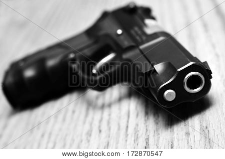 Handguns and pistols for shooting and self defense
