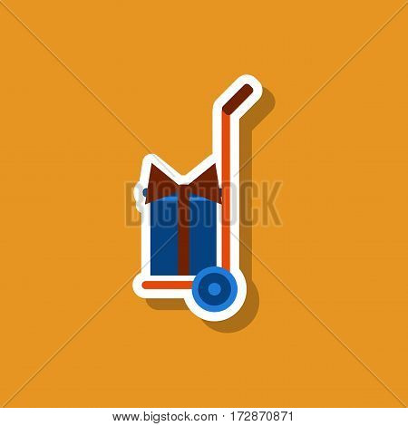 fashion patch , sale sticker Gift delivery transportation