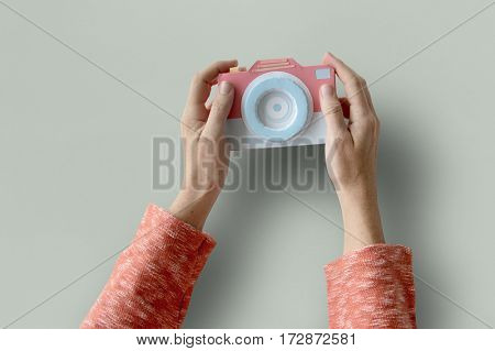 Human Hand Holding Camera Photography Photoshoot