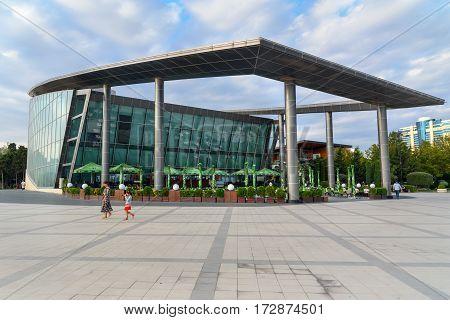 Building Of Baku Business Center
