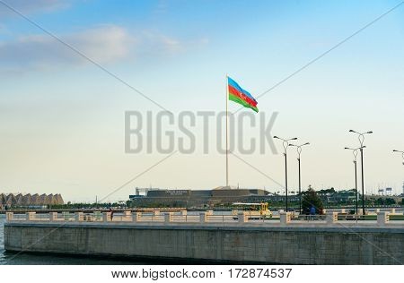 National Flag Square In Baku