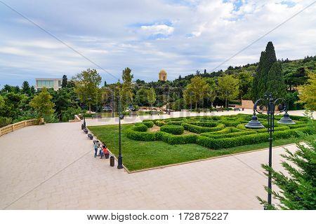 Upland Park In Baku
