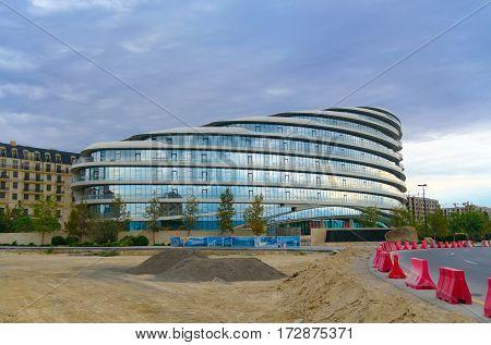 Baku White City Office Building
