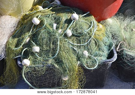 Fishing Net With Buoy