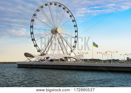 Baku Ferris Wheel, Baky Eye