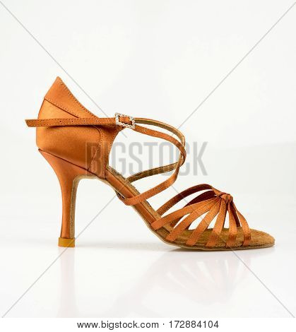 Modern fashionable women shoe shot in studio