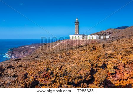 El Faro De Punta Orchilla Lighthouse, El Hierro, Canary Islands, Spain