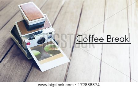 Break coffee lover word
