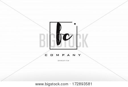 Fc F C Hand Writing Letter Company Logo Icon Design