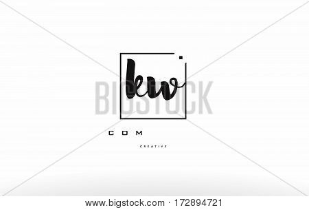 Ky K Y Hand Writing Letter Company Logo Icon Design
