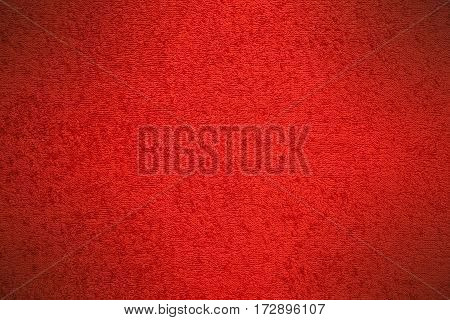 Red Canvas Fluffy Texture