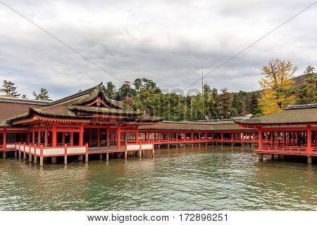 Miyajima, Hiroshima, famed floating Shrine temple itsukushima Japan