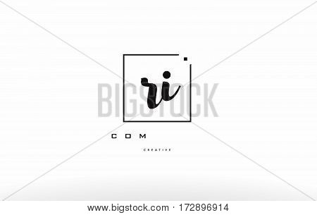 Rk R K Hand Writing Letter Company Logo Icon Design