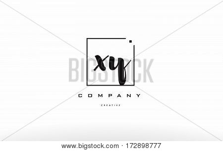 Xy X Y Hand Writing Letter Company Logo Icon Design