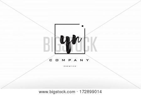 Yn Y N Hand Writing Letter Company Logo Icon Design