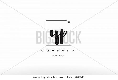 Yp Y P Hand Writing Letter Company Logo Icon Design