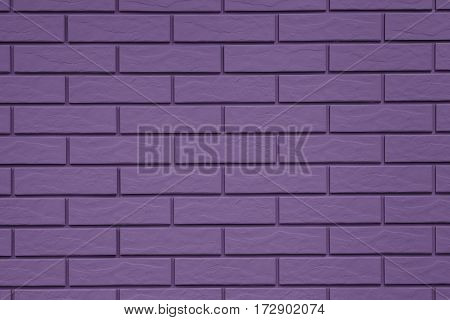 Brick Pattern Violet Background