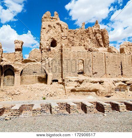 In Iran  Near The Castle Brick