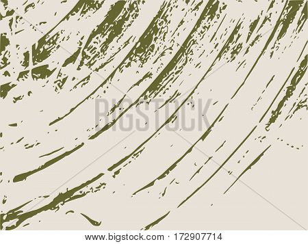 Relief stone surface texture. Old concrete wall. Monochrome image. Grunge distress texture. Vector template.