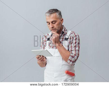 Painter Using A Digital Tablet