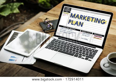 Marketing Plan Business Investment Success Word
