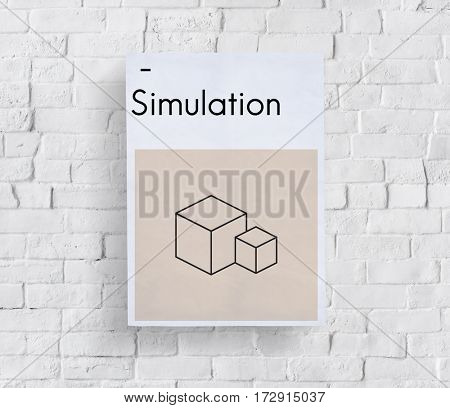 Composition Layout Simulation Style Creative