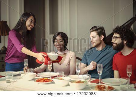 Sharing some good food
