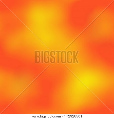 Fiery colors yellow and orange blur blurry cloudy smoke seamless background