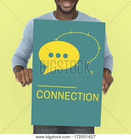 Connection Digital Life Social Network Icon