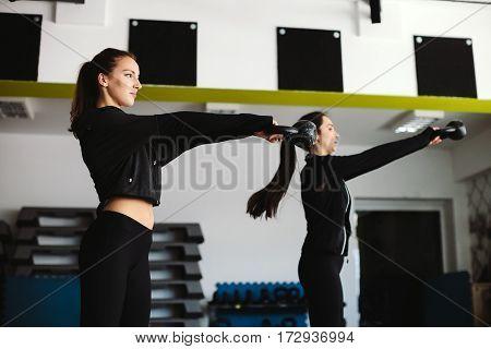 Women Kettlebell Workout