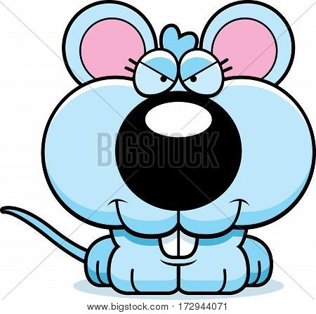 Cartoon Sly Baby Mouse
