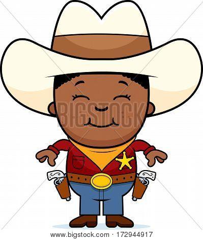 Happy Little Cowboy