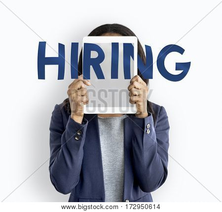 Business Job Hunting Hiring Words