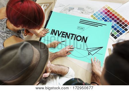 Innovation Paper Plane Creative Invention