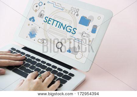 Database Network Settings System