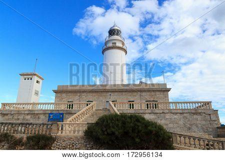 Cap de Formentor Lighthouse on Majorca Spain