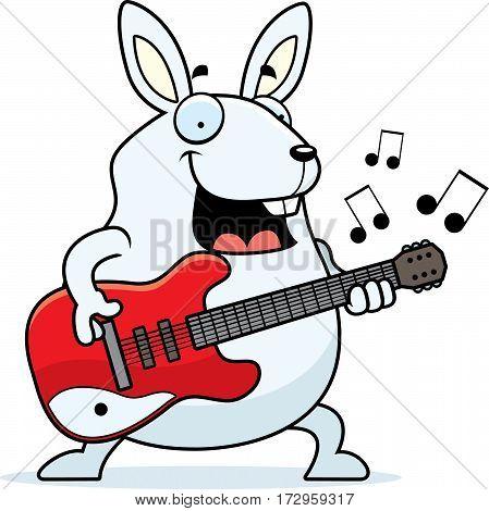 Cartoon Rabbit Guitar