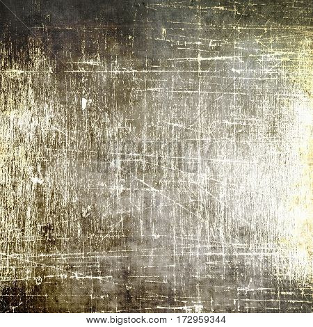 Vintage scratched texture or background. Sepia tones.