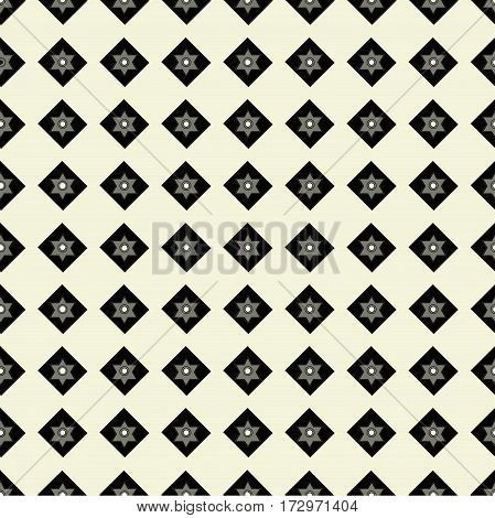 seamless pattern of geometric shapes on a white background